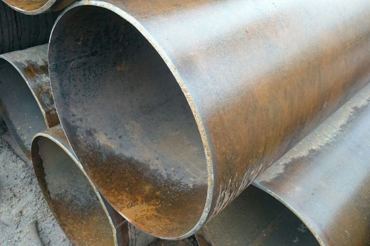 Восстановленные трубы диаметром 508мм