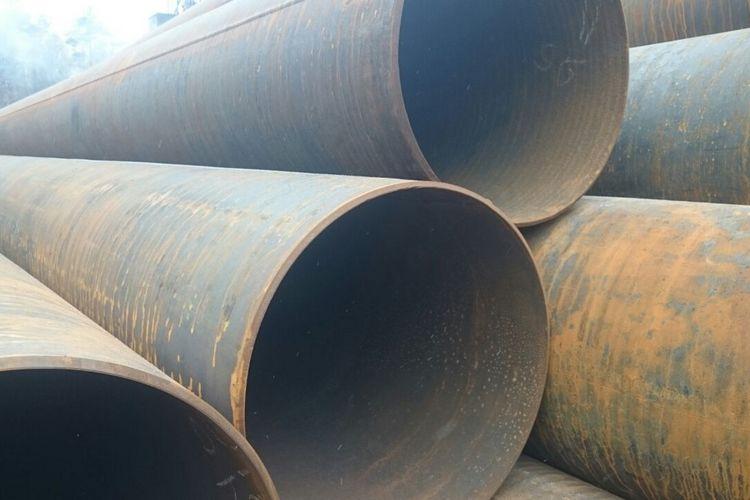 Восстановленные трубы диаметром 630мм