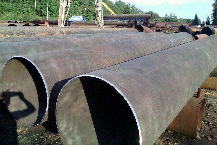 Восстановленные трубы диаметром 1020мм